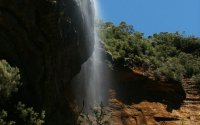 wentworth falls bei katoomba in den blue mountains